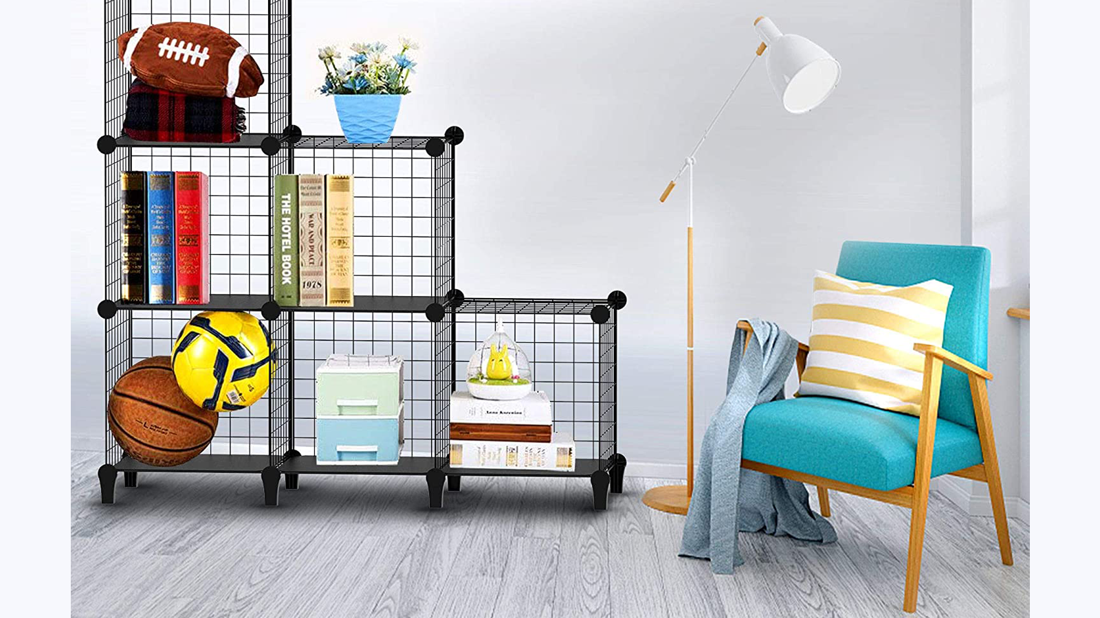 Wire Storage Cubes Make for Easy Modular Storage Anywhere