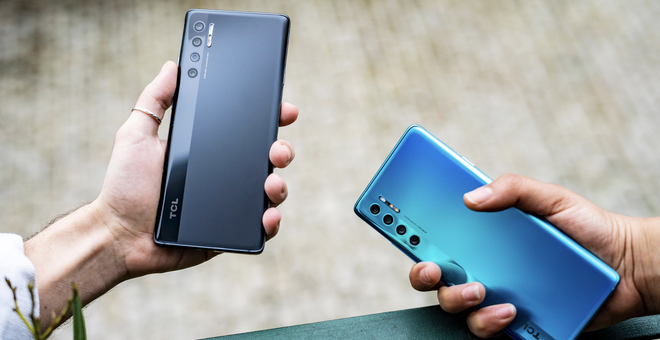 TCL Debuts Three Affordable Phones with Cutting-Edge Displays