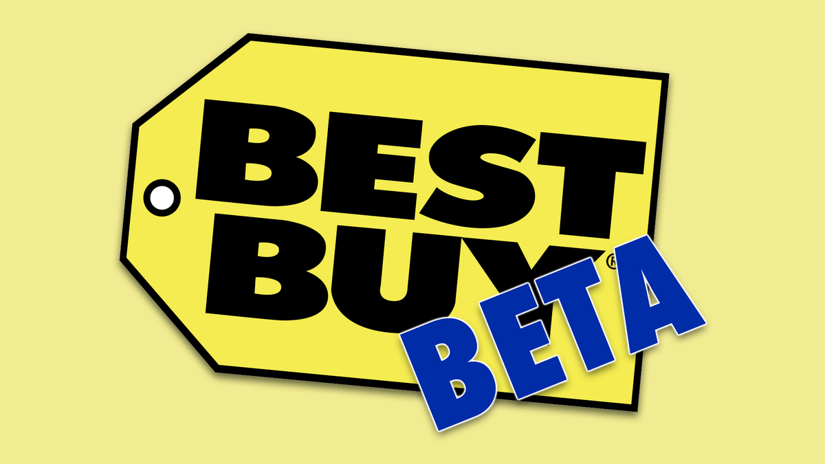 The Best Buy logo with the word