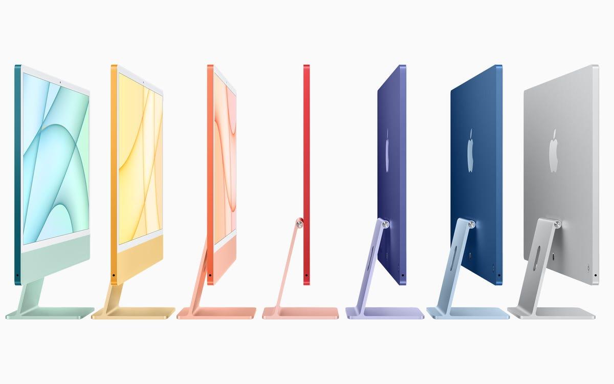 2021 iMac colors