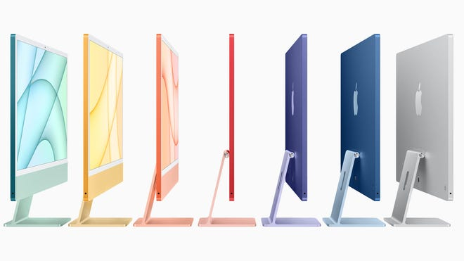Apple's Redesigned M1 iMac are As Colorful and Thin As a Magic Marker