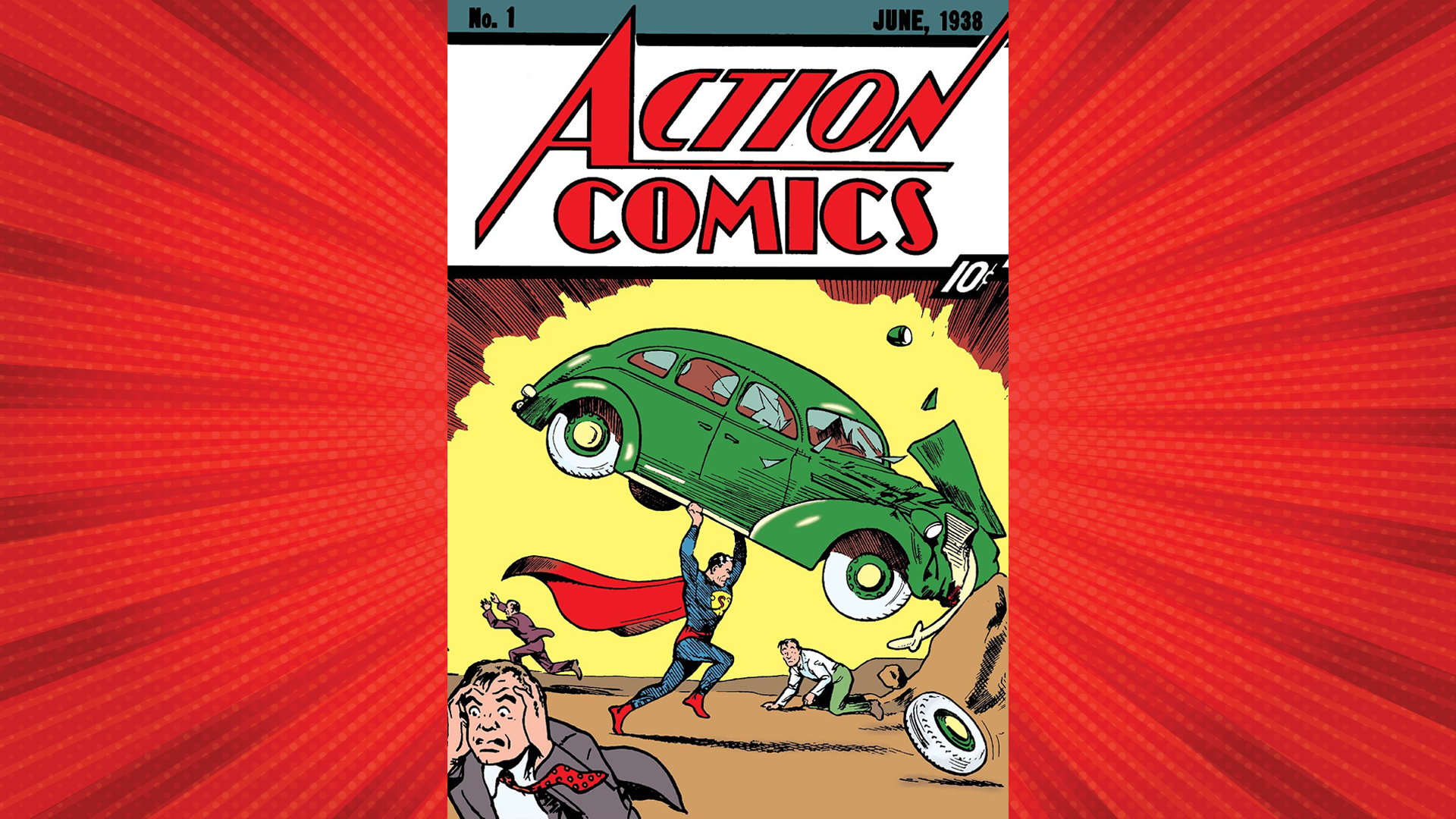 A Rare Vintage Superman Comic Book Just Sold for $3.25 Million thumbnail
