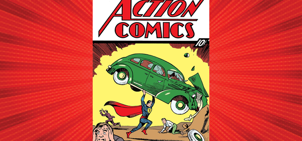 A Rare Vintage Superman Comic Book Just Sold for $3.25 Million