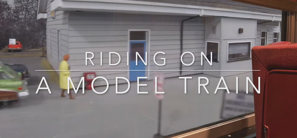 Take a Model Train Ride in This Enthusiast's Detailed Video