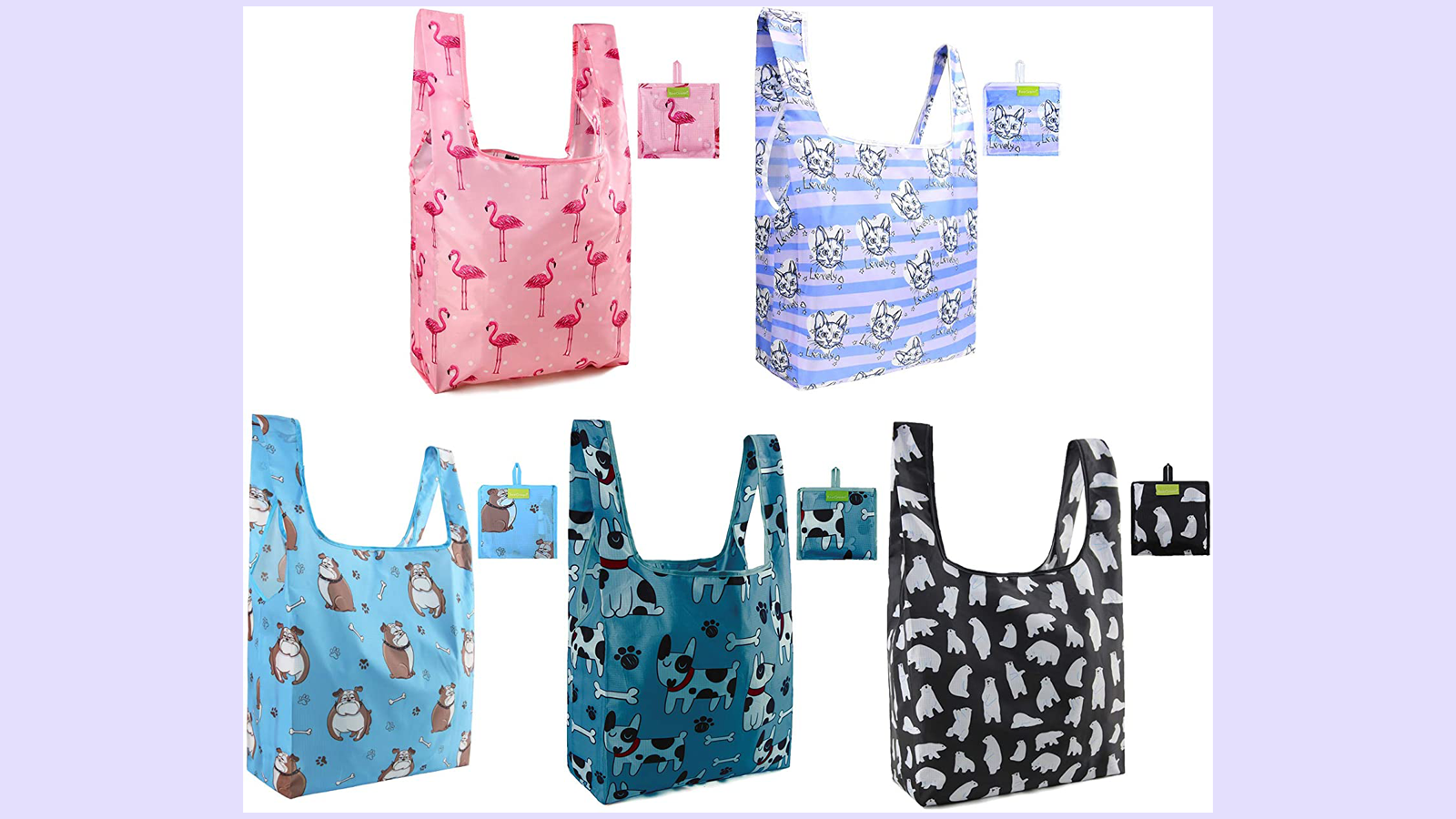 These Reusable Tote Bags Are Great for Grocers and So Much More!