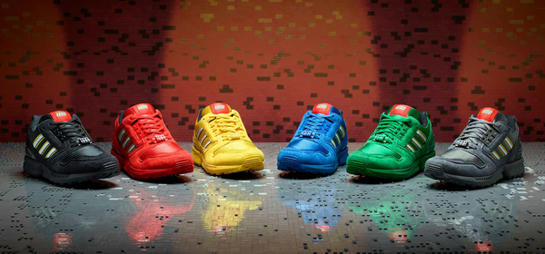 The Latest LEGO x Adidas Shoe Collab Pays Homage to Classic LEGO Colors