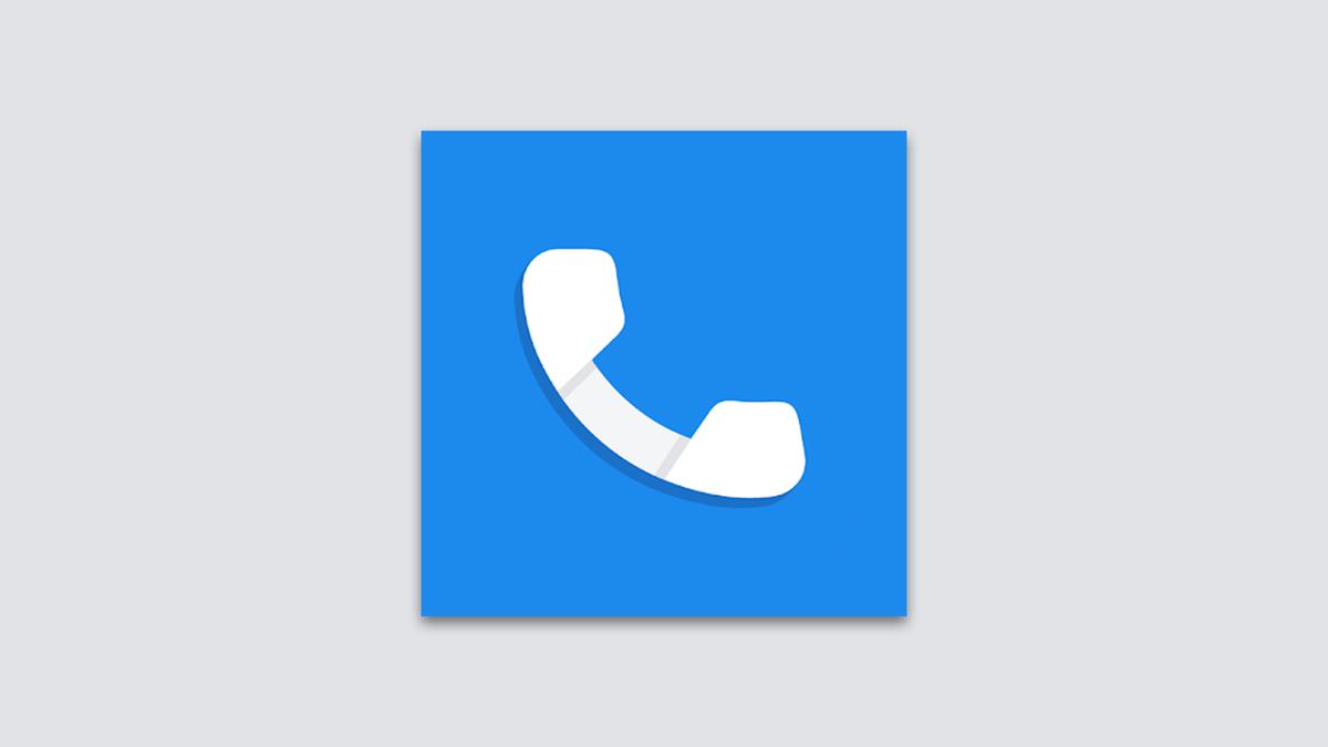 A Google Phone alkalmazás ikonra.