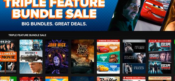 Save on Movie Trilogies During Fandango's Digital Bundle Sale