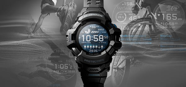 Casio's Rugged G-Shock Series is Getting a Wear OS Smartwatch Option