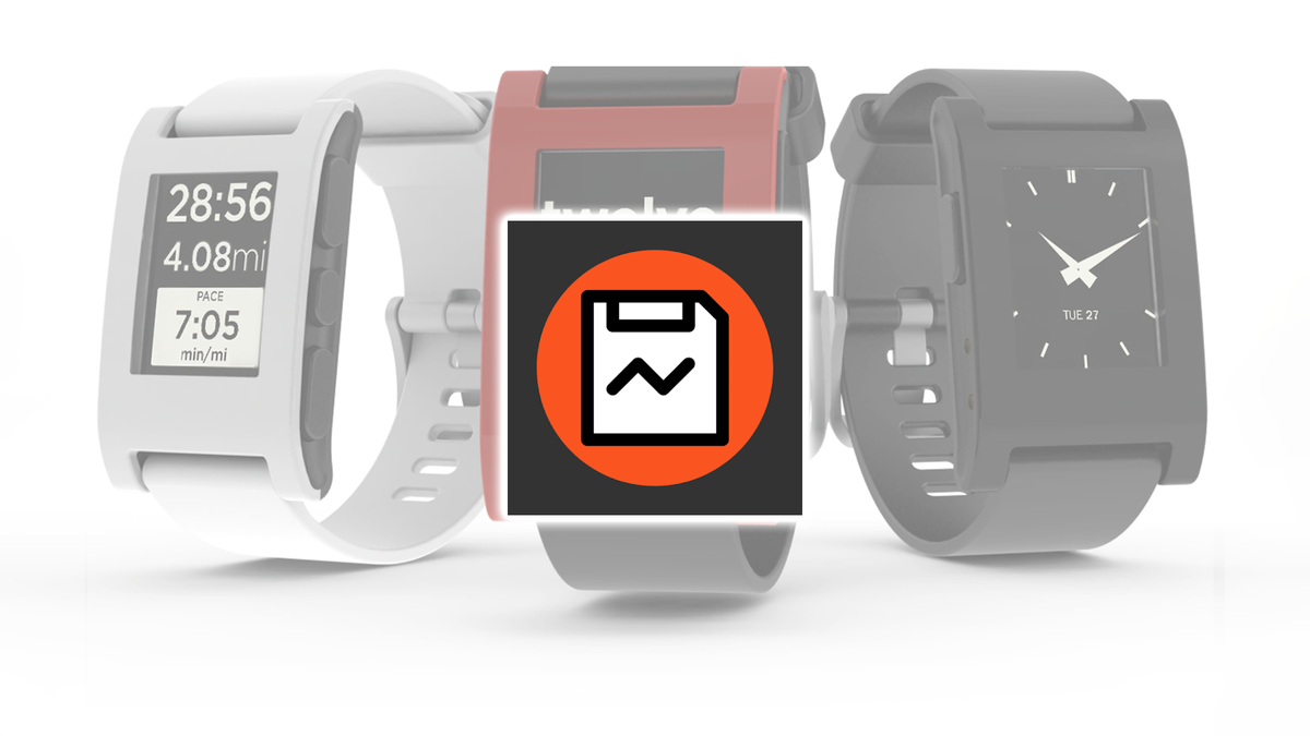 The Rebble Sideload Helper icon on Pebble smartwatches