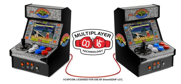 My Arcade's $50 'Street Fighter' Barcades Let You Link Two for Multiplayer