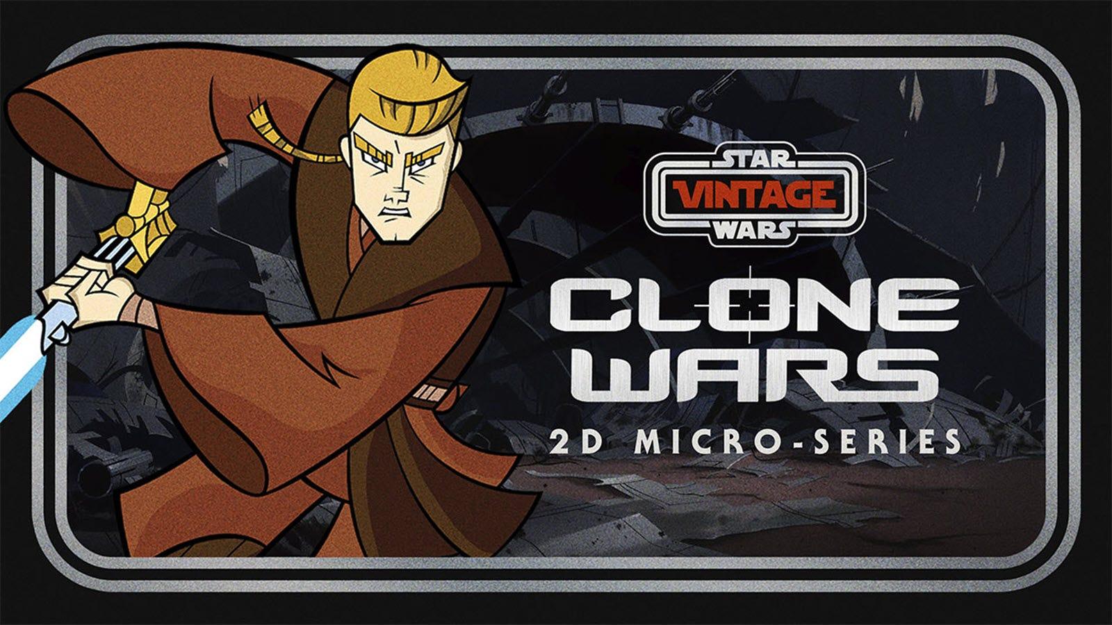 A still from the 'Star Wars Clone Wars' cartoon.