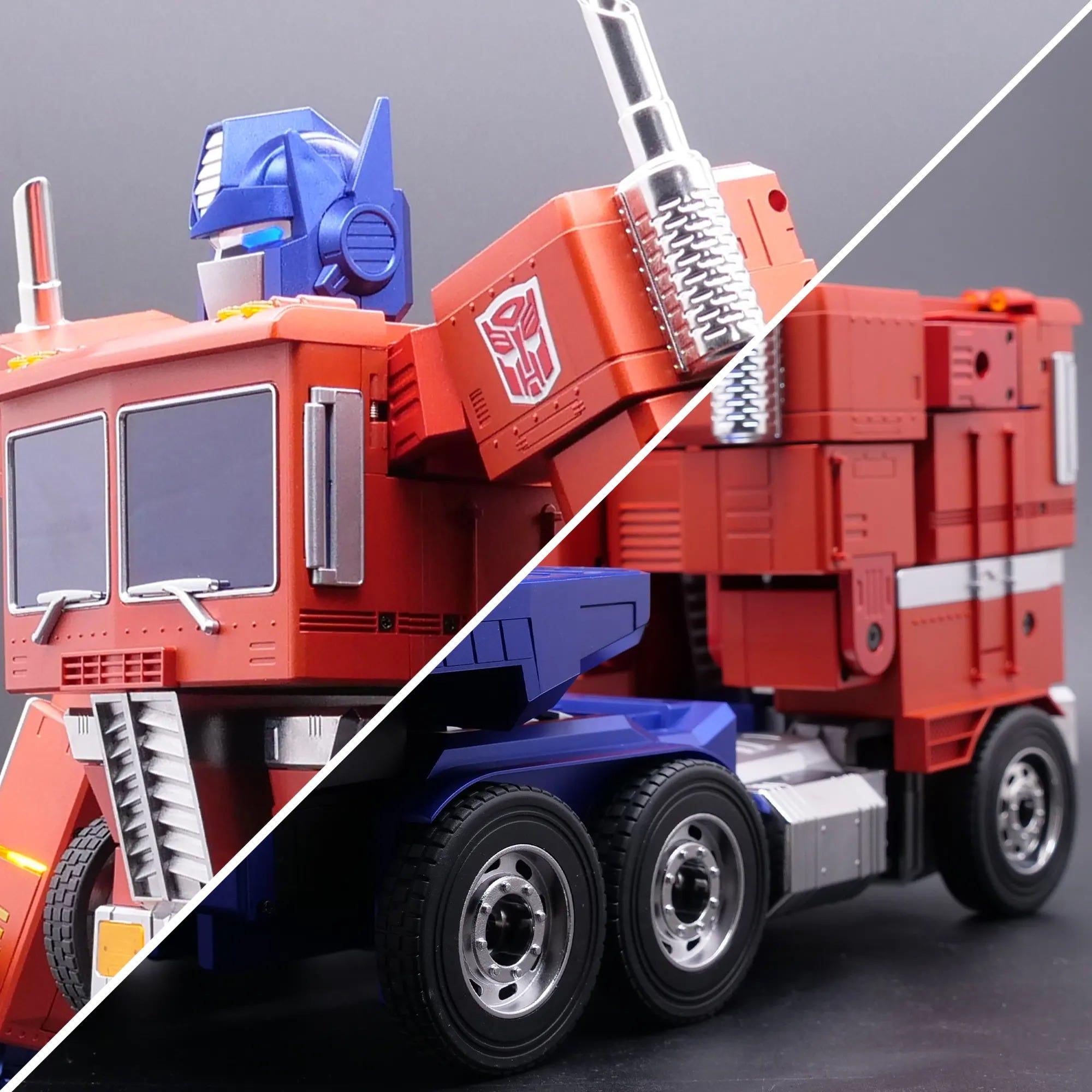 Optimus Prime Auto-Converting Collector's Edition
