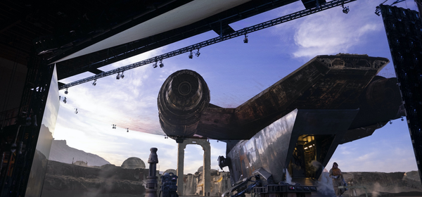 See Industrial Light and Magic's Enormous LED Set for 'The Mandalorian'