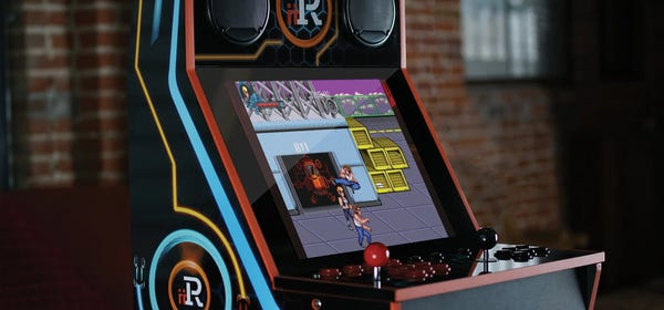iiRcade's $599 Bartop Arcade Cabinet Comes with a Digital Game Store