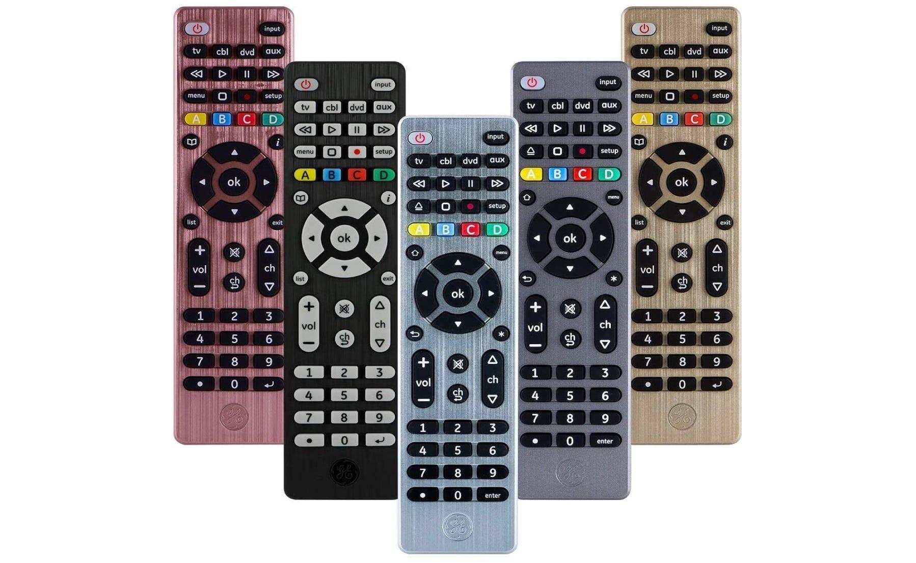ge universal remote, ge remote