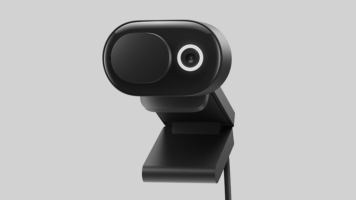 The new Microsoft Modern Webcam.