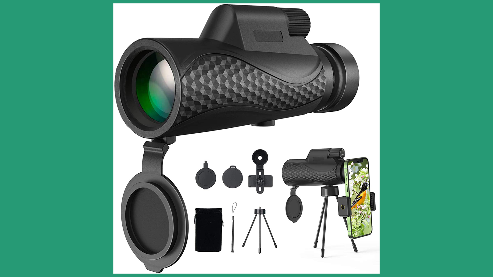 This Monocular Telescope Lets You See Far-Away Views with Ease
