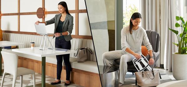 Vari's New Portable Standing Desk Converter Fits in Your Backpack