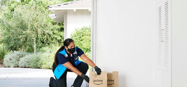 Amazon Expands In-Garage Grocery Delivery to Curb Porch Pirates