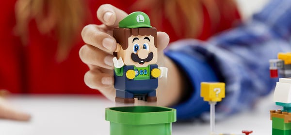 Momma Mia! LEGO Luigi is Now Available for Pre-Order