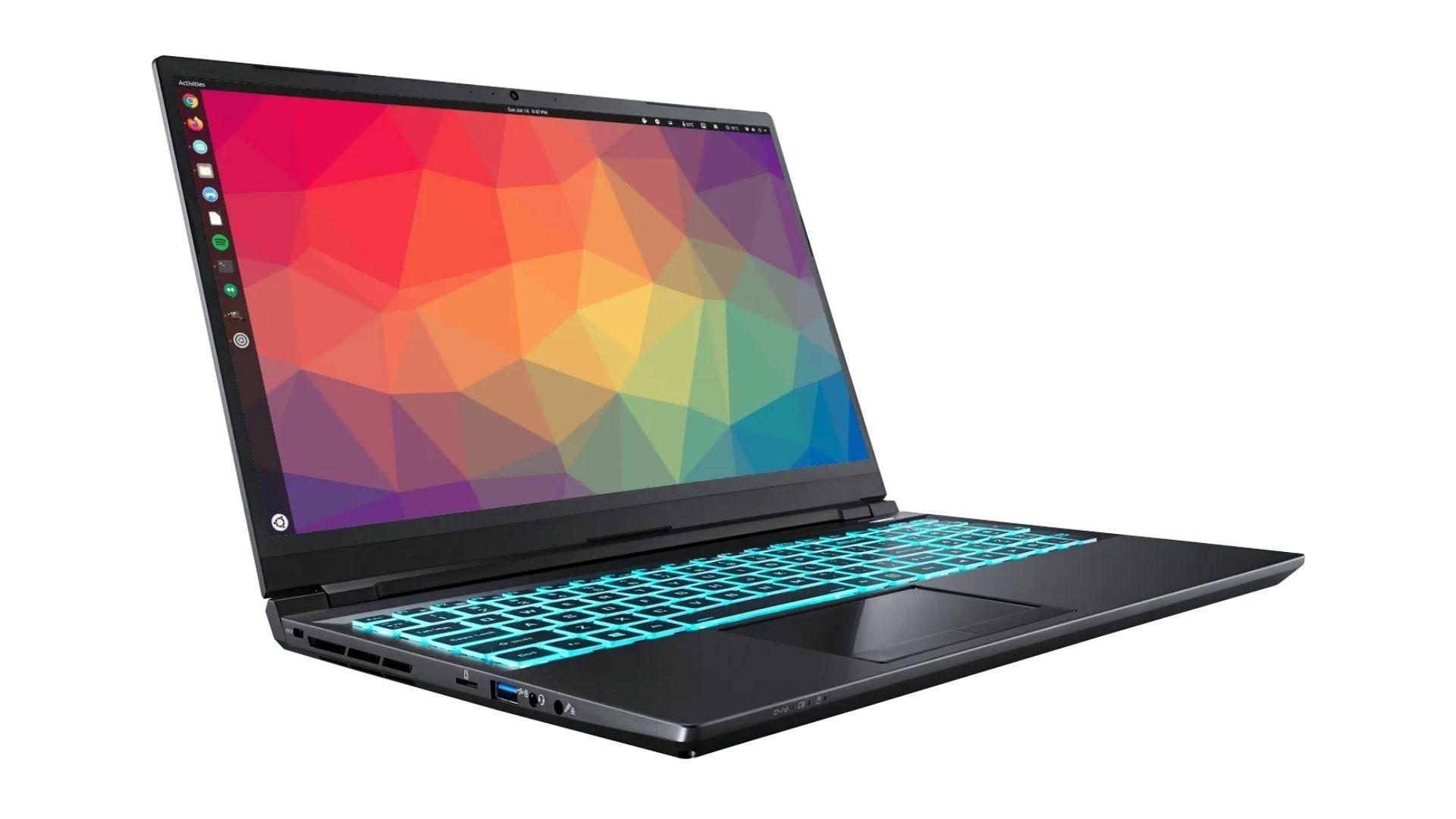 15-дюймовый ноутбук Juno Neptune под управлением Linux