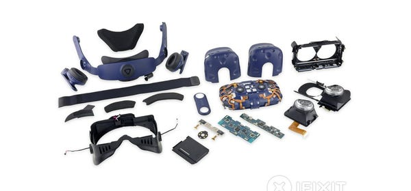 iFixit and HTC Team Up to Make Vive VR Headset Repairs Easier