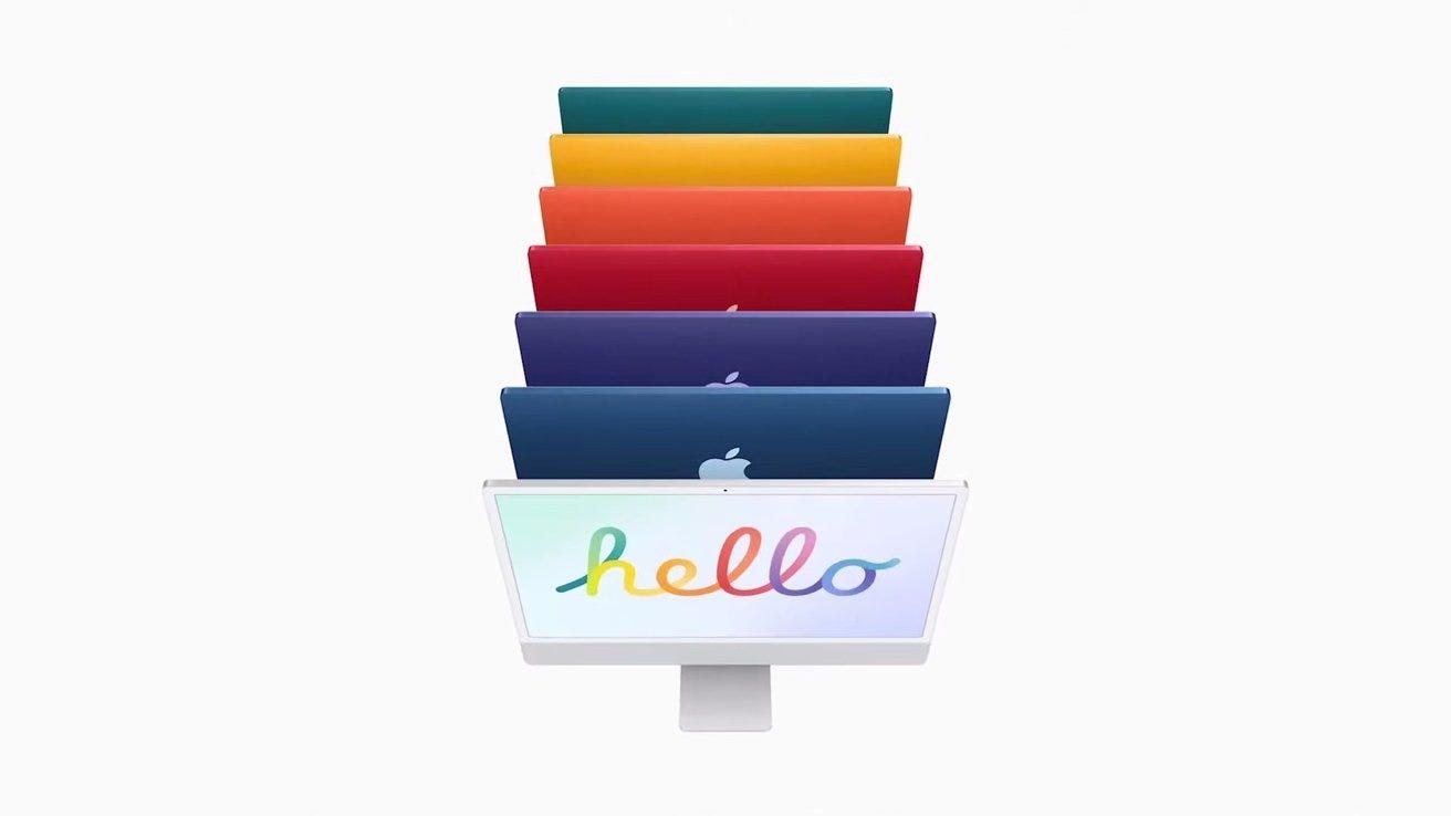iMac 7 new colors