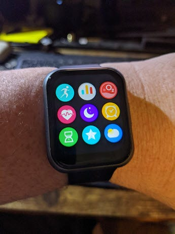 Watch 47 App Launcher screen.