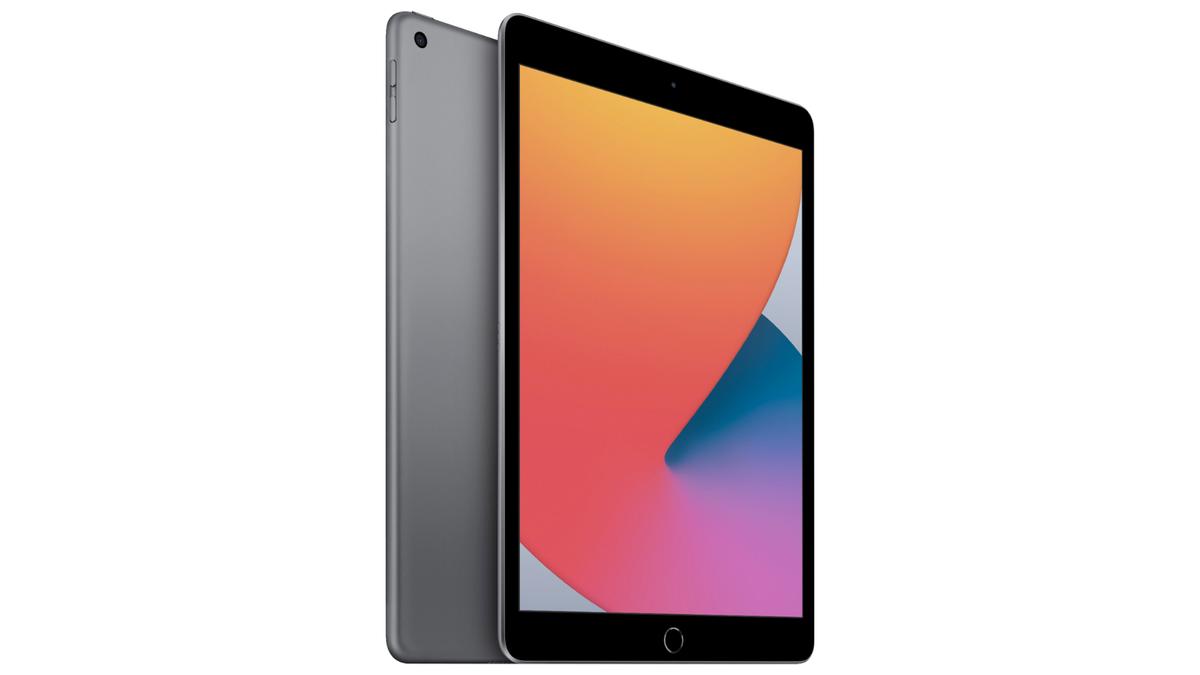 The 10.2-inch iPad.