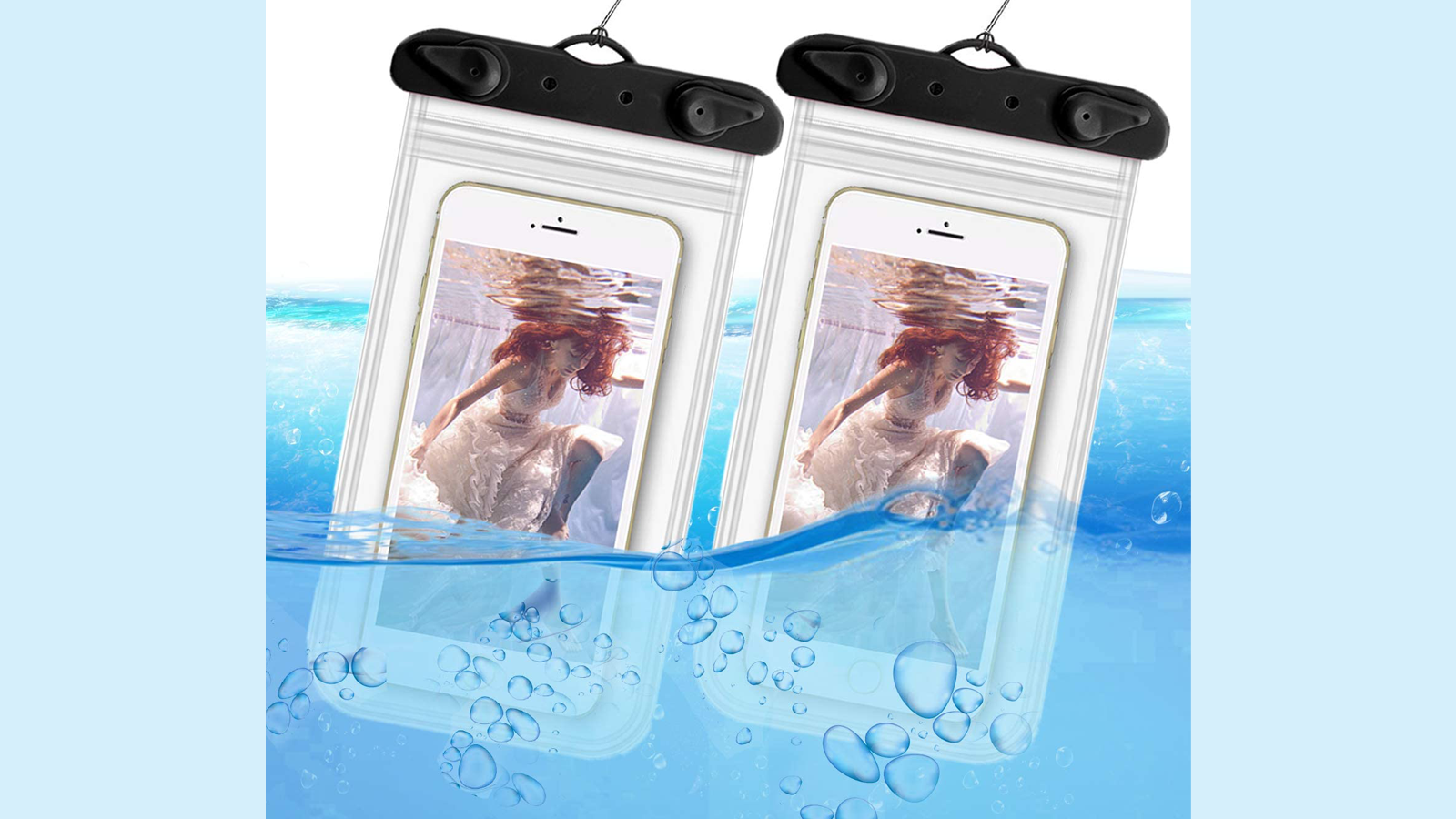 This Waterproof Pouch Keeps Your Smartphone Dry at the Beach
