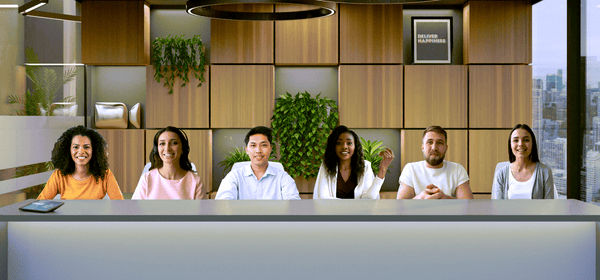 """Zoom's New Immersive Mode Puts Everyone Together in the Same """"Room"""""""