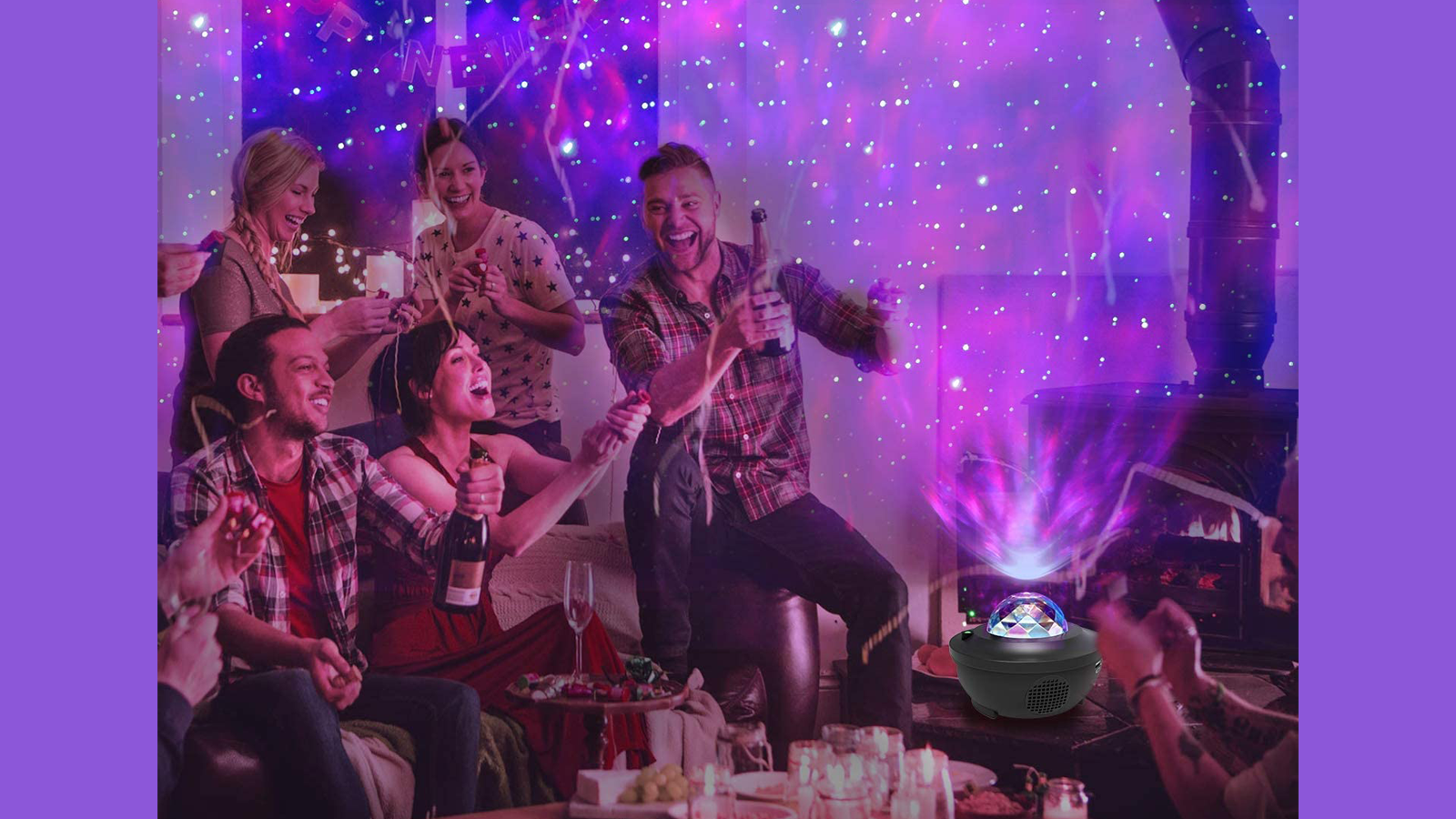 With a Galaxy Projector, You Can Create a Relaxing and Fun Scene
