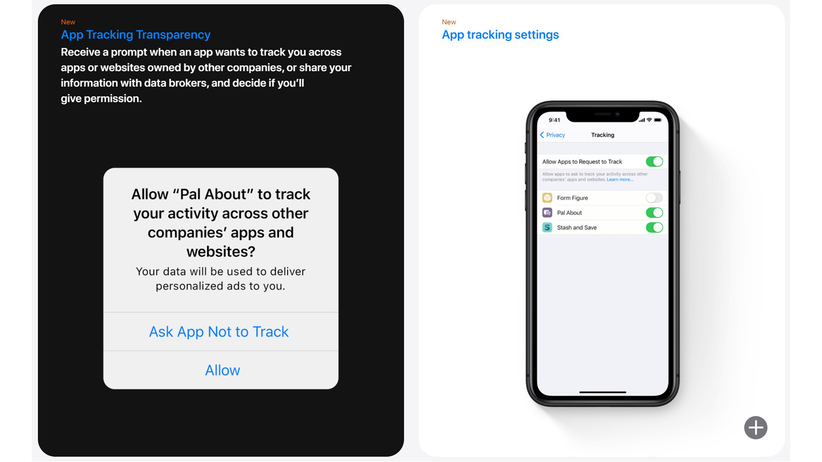 app tracking transparency feature