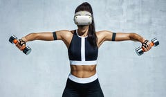 HTC's Fitness VR Headset Looks Amazing, Too Bad It's Not Real