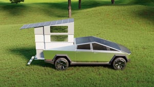 A Concept Camper for the Cybertruck Somehow Took $50 Million in Preorders