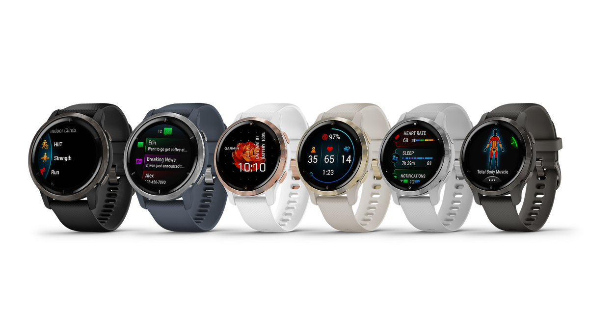 The new Venu 2 and 2S watches