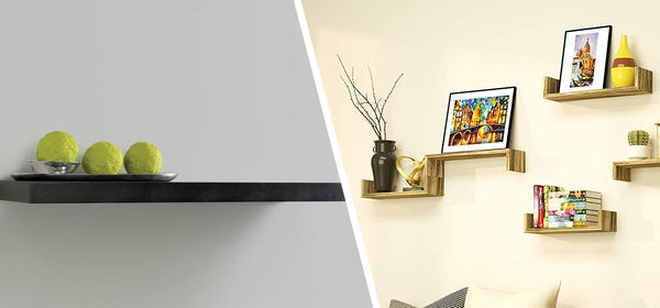The 7 Best Floating Shelf Kits to Modernize Your Home Office
