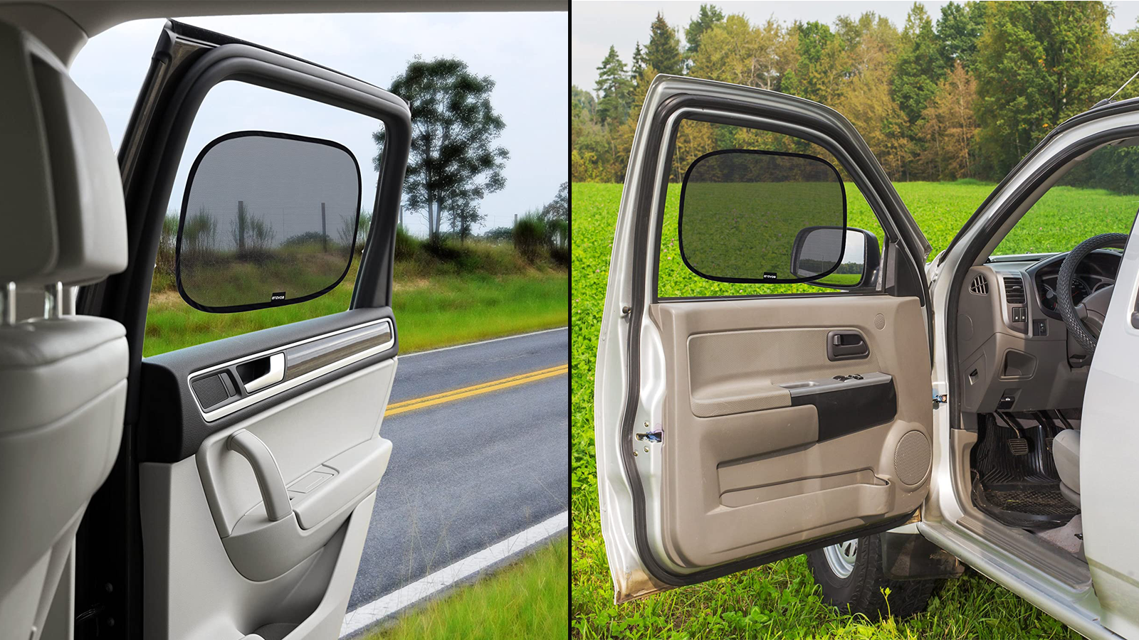 Use These Cling Sunshades to Reduce the Sun's Glare and UV Rays in Your Car