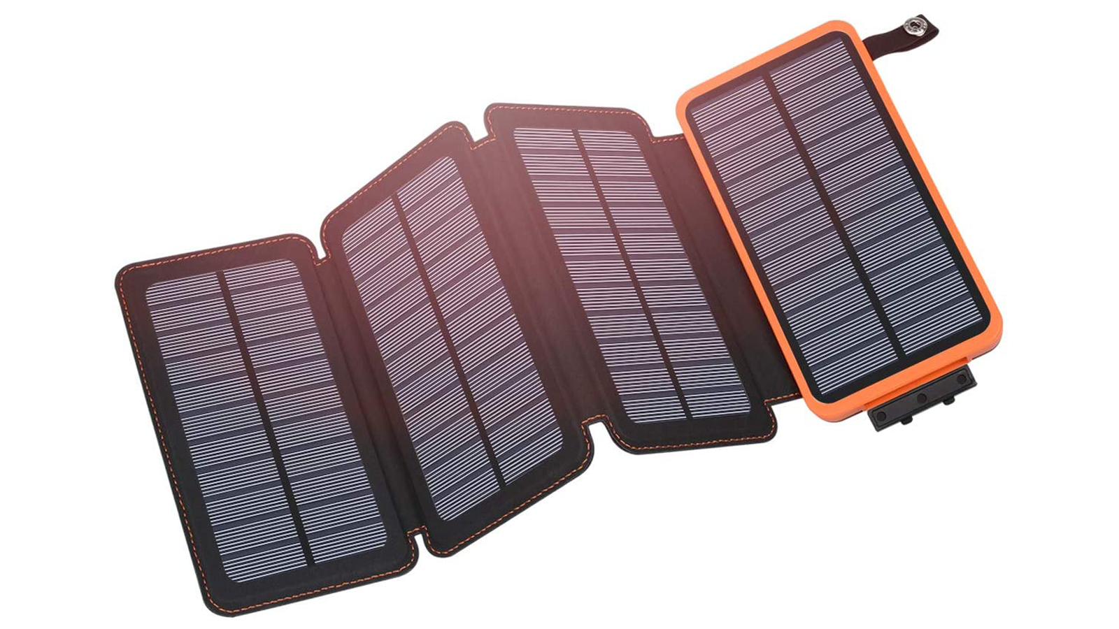 Keep a Sunny Outlook with This Solar Power Bank
