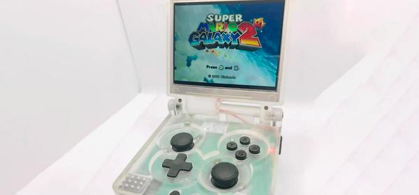 This Modder Stuck a Wii Into a GameBoy Advance SP