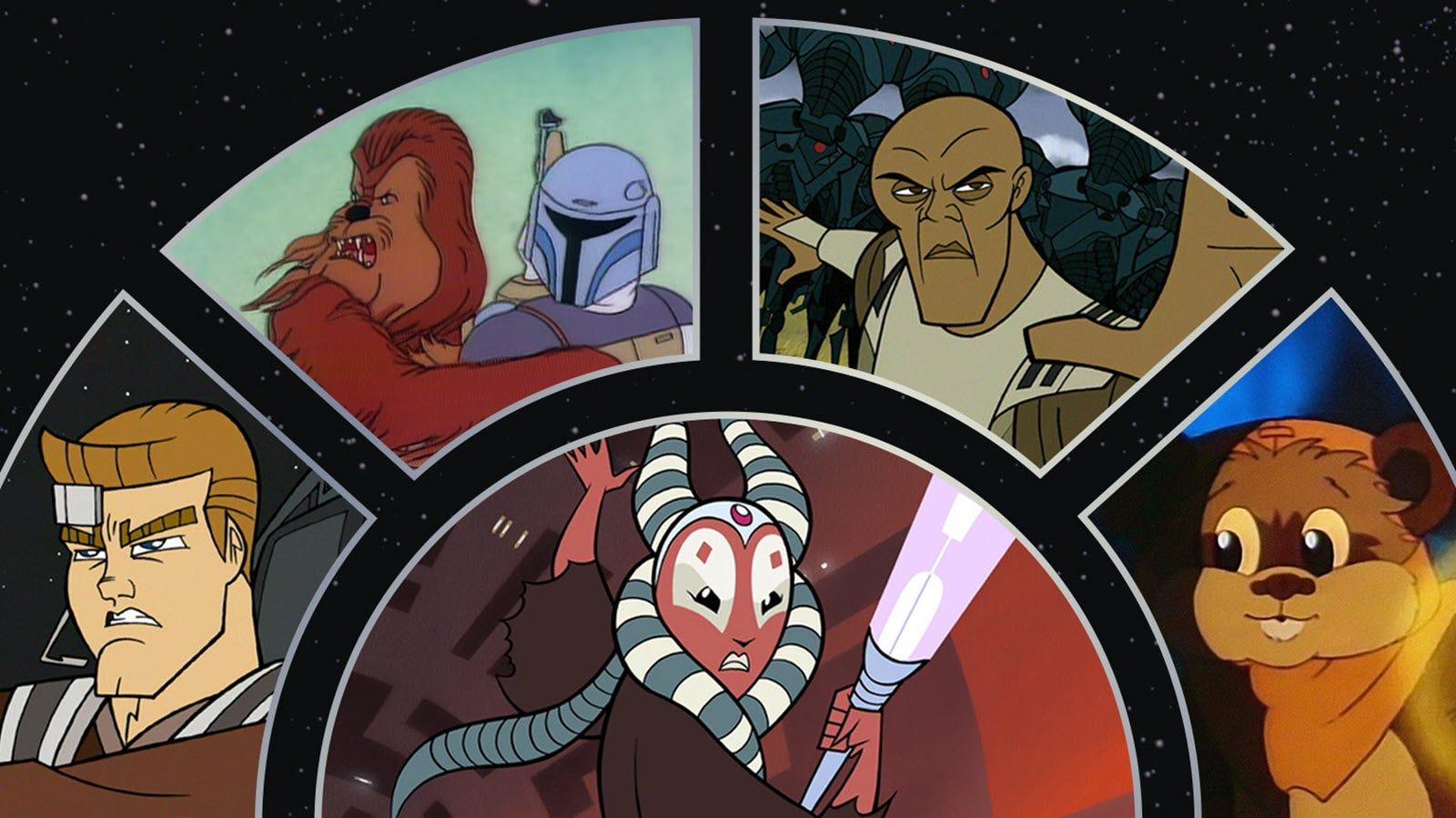 Disney + un grupo de viejas caricaturas y películas de 'Star Wars' agregadas 12