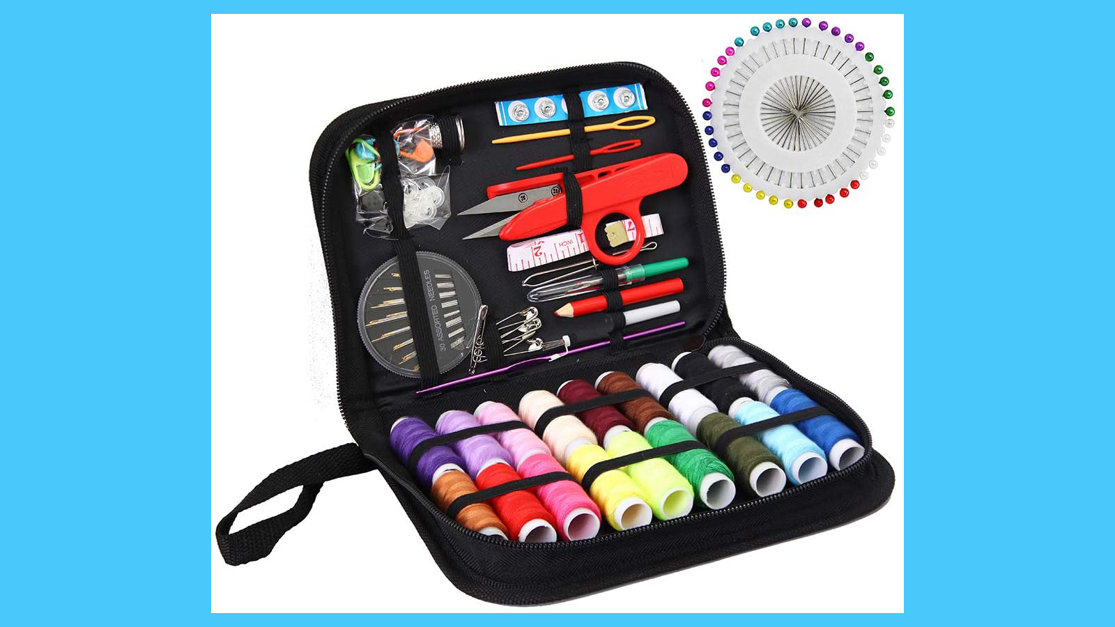 With a Good Sewing Kit, a Rip or Tear is Sew Big Deal