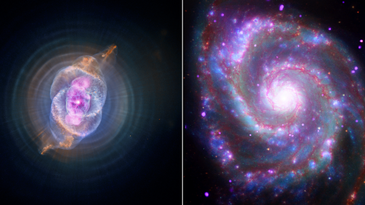 Chandra X-ray Observatory space data sonication video thumbnails
