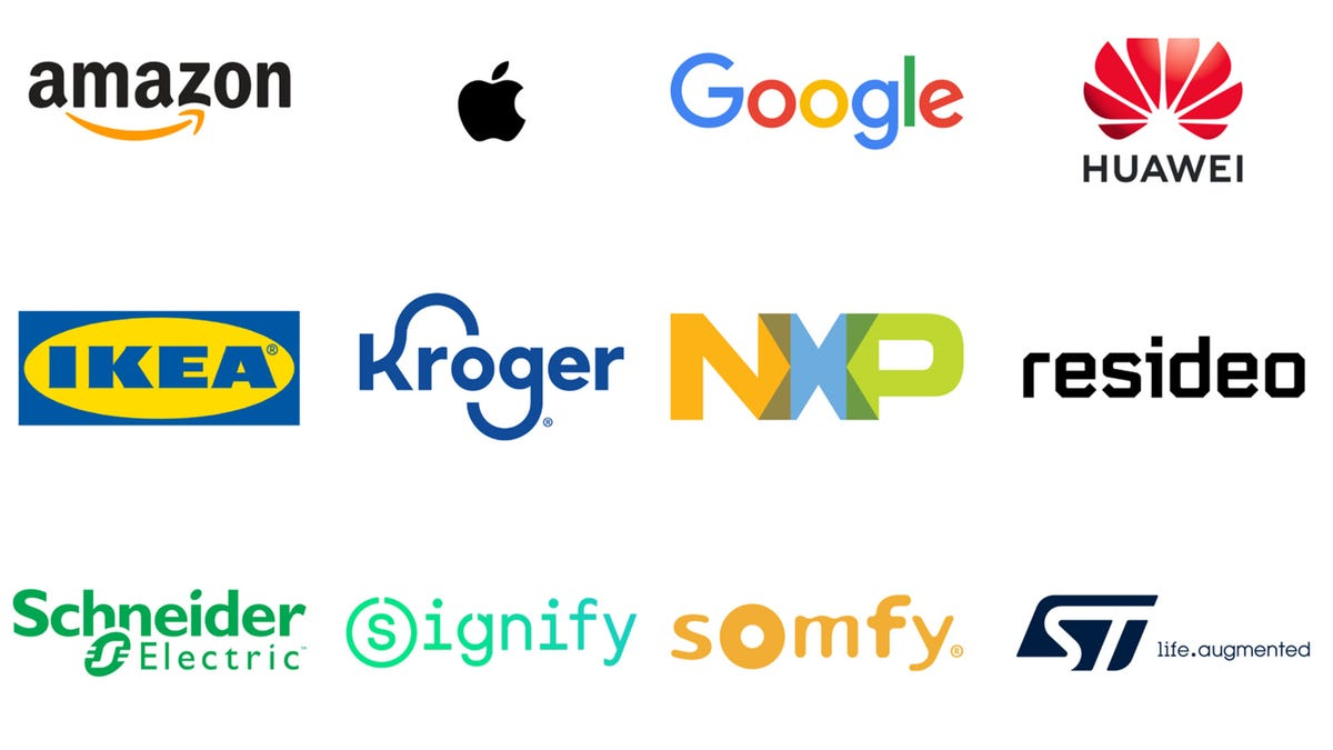 A range of logos from Amazon, Apple, Google, IKEA and more
