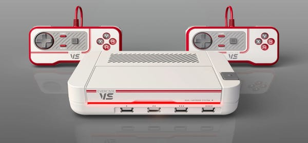 Evercade's VS Console Brings Retro Cartridge Gaming to Your TV