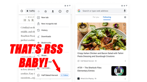 Ghost of Google Reader Finds Its Way to New Chrome Canary Build