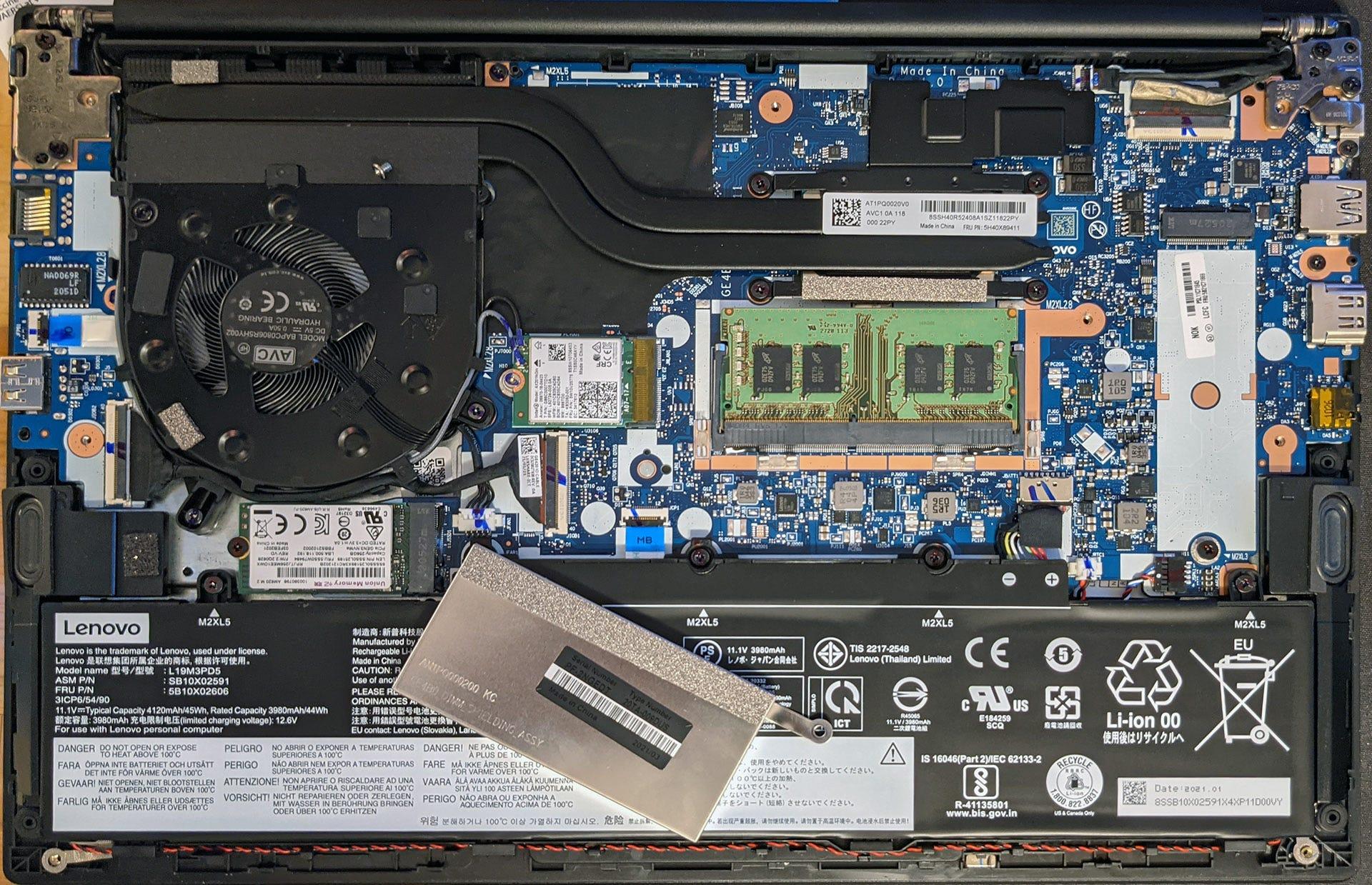 ThinkPad E14 internal motherboard