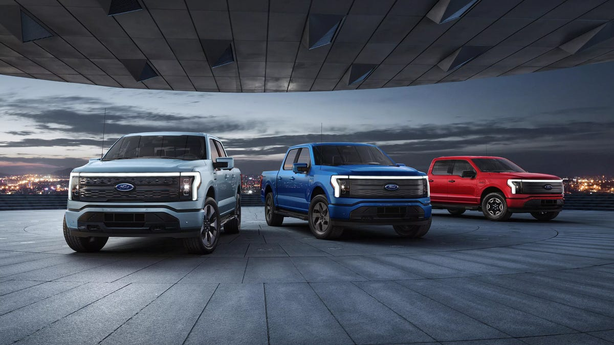 All trim levels of the Ford F-150 Lightning