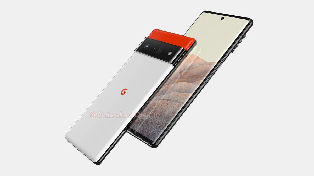 Pixel 6 Pro leaked photo